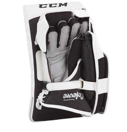 CCM Extreme Flex 3 9 Sr Senior Glove and Blocker - Black/White