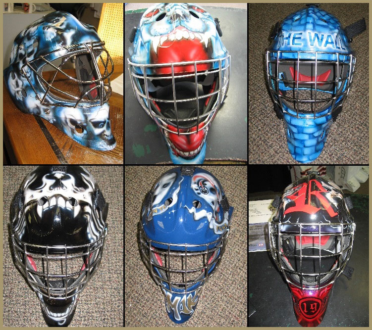 Goalie Mask Painting